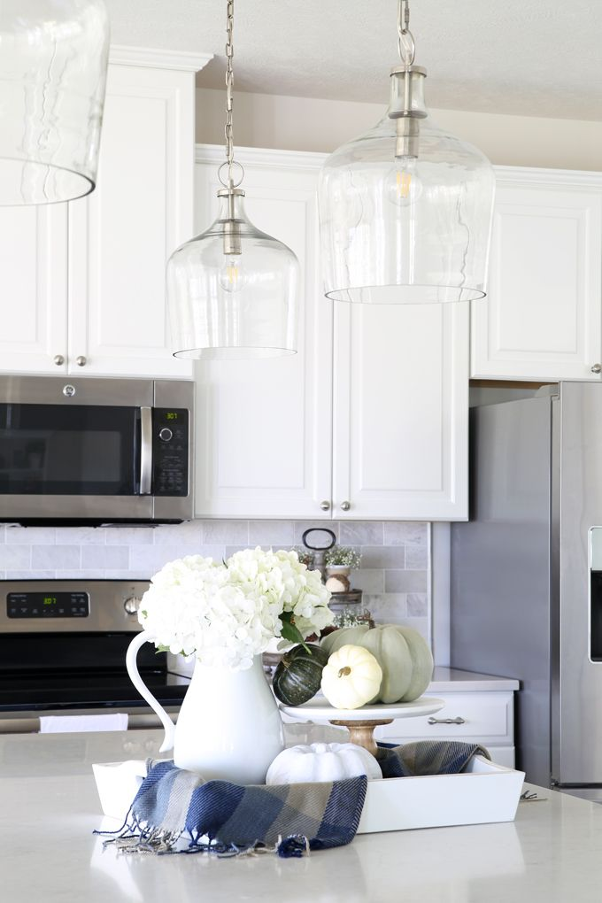 Our Big Light Swap White Kitchen Lighting White Kitchen Pendant