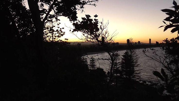 Burleigh Heads Sunset Timelapse