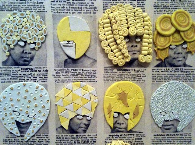 Ellen Gallagher - DeLuxe @⸬ e m e r e y ⸬ barbara moffett of Modern Art (3) >>> by Roberto C. Madruga, via Flickr