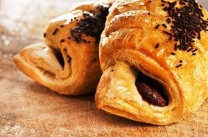 """Chocolate Croissant recipe from the movie """"It's Complicated""""."""