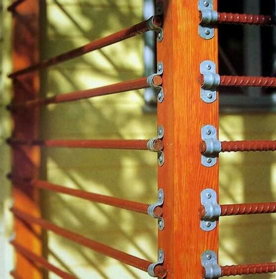 Using repurposed rebar...great idea!