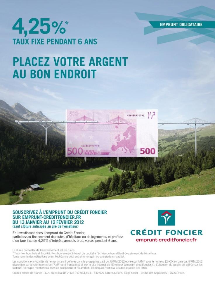 Crédit foncier - Emprunt obligatoire
