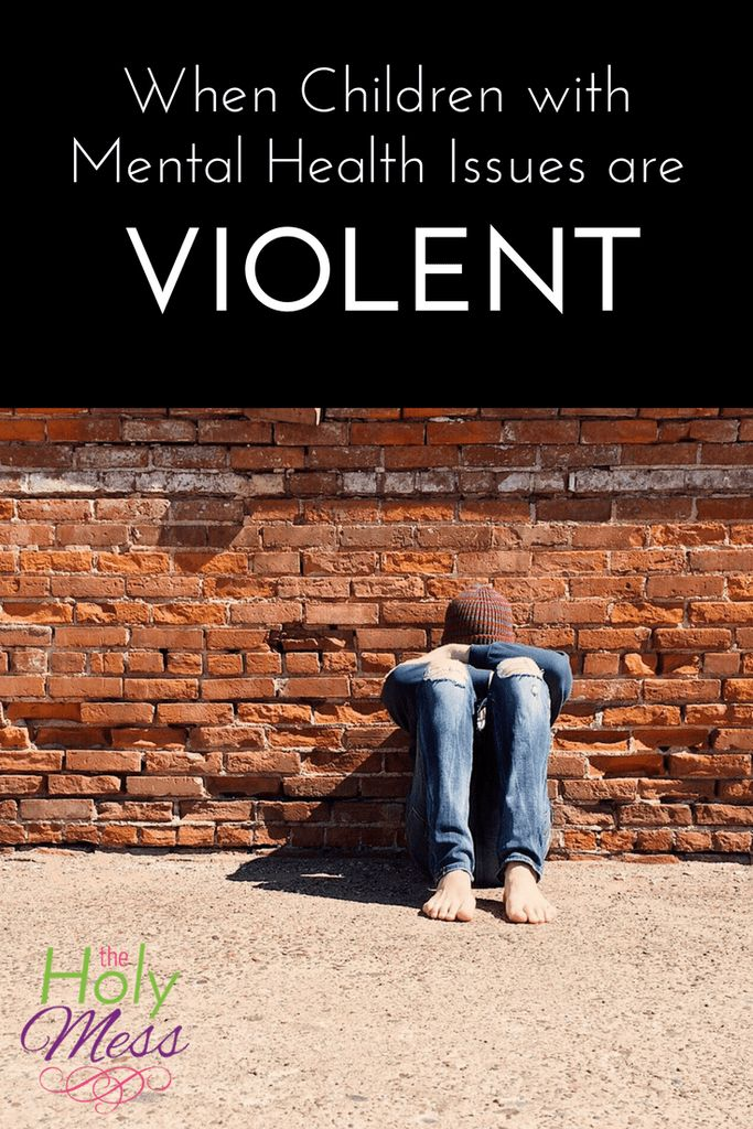 The sad reality is that some children with autism, attachment problems, or other mental health issues are violent and aggressive. What should be done when children with mental health issues are violent?