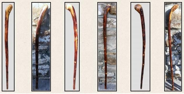 Buy online birch walking sticks for sale in Ireland at derryhicksticks.com. This is created by natural way in different size, shades and handles at affordable price from derryhicksticks.com.