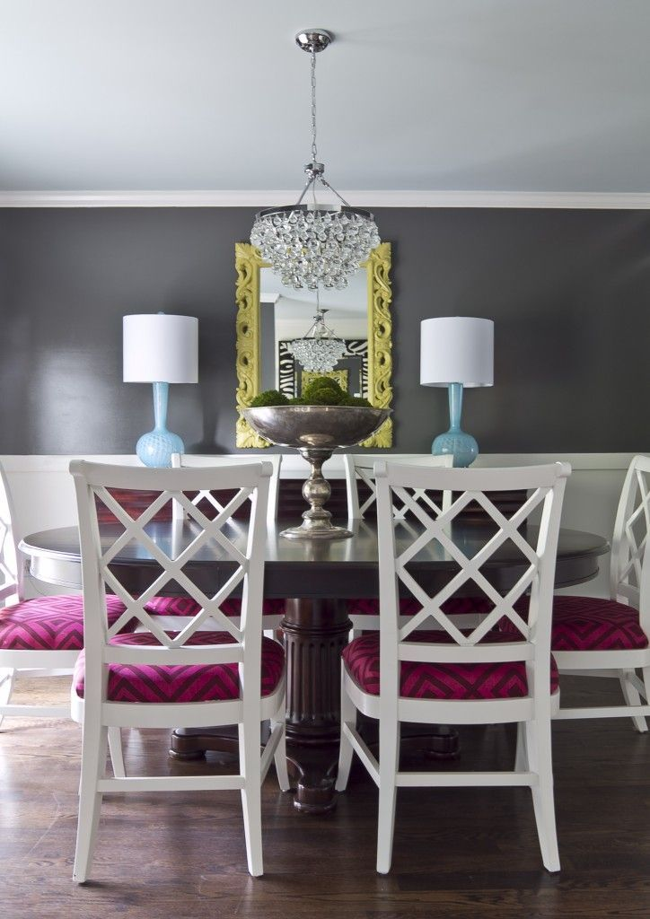 dark grey dining room for the home pinterest