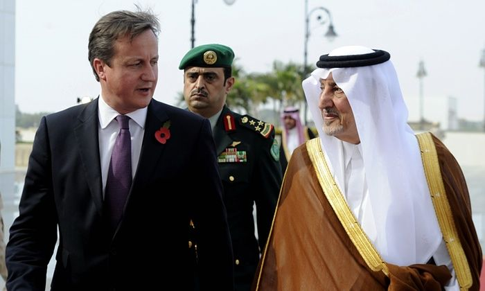 Saudi prince and David Cameron in secret votes to elect most mysoginist realm to head of human rights.. total disgrace.