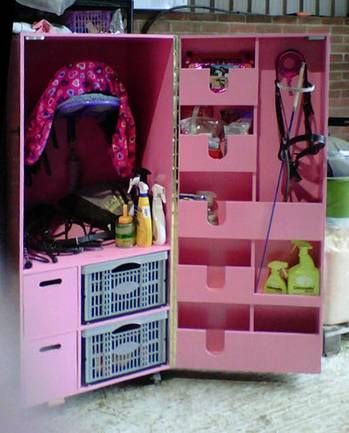 Tack room design ideas   ... for sale, ponies for sale - Tack Box / Cupboard / Cabinet, Essex  too cute!