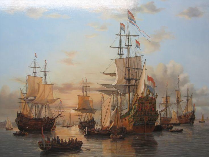 de zeven provincien dit was het schip van michiel de ruyter.