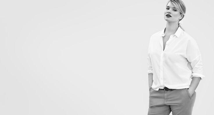 Mode grande taille pour femme   Violeta by MANGO Canada