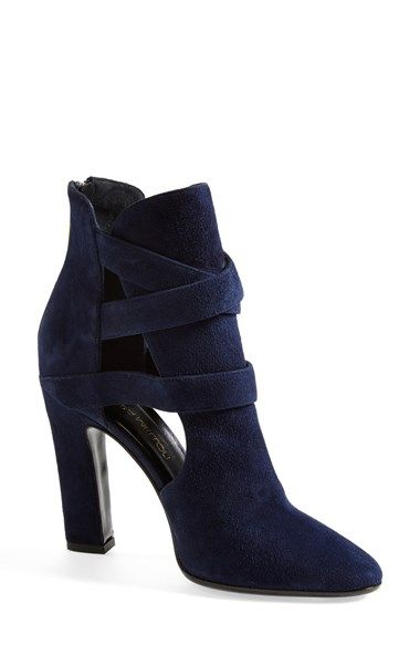 Tamara Mellon 'Highway' Suede Bootie (Women) available at #Nordstrom