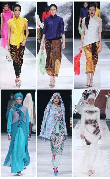 Di hari ke-6 Jakarta Fashion Week 2013, telah diramaikan oleh kebaya Obin dan parade busana muslim.