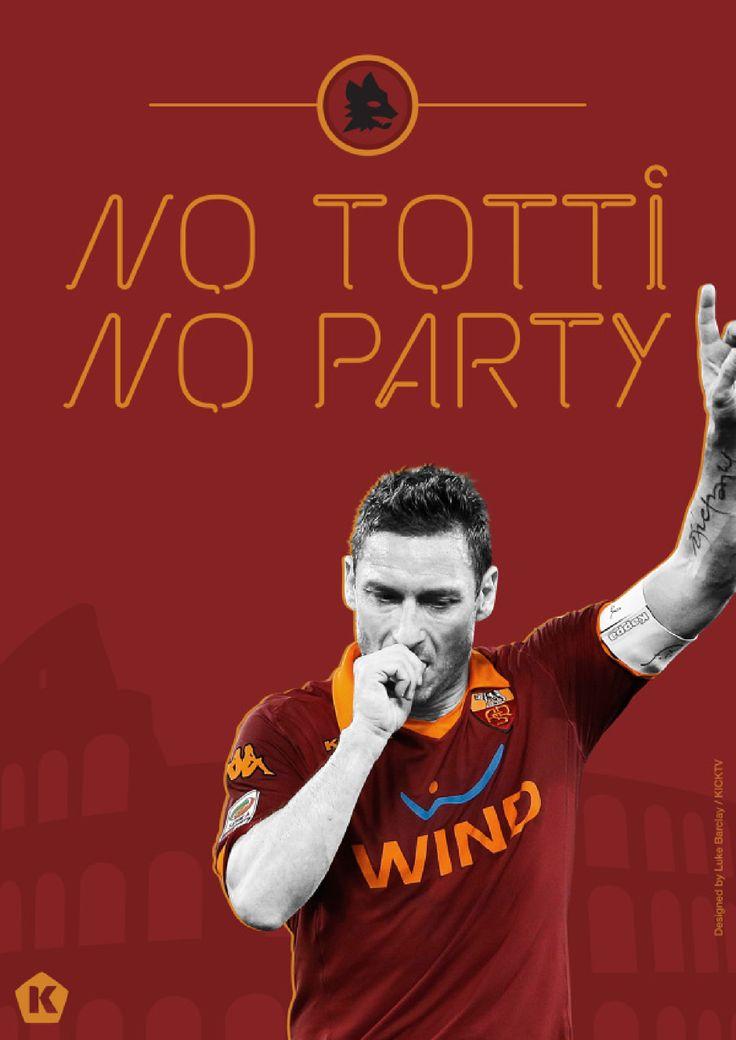 Roma Art: No Totti, No Party
