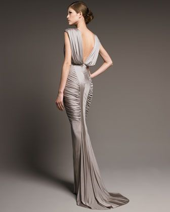 112 best evening gowns images on pinterest wedding frocks j mendel ruched jersey gown neiman marcus junglespirit Gallery