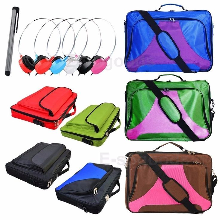 17.3 17 16.4 15.6 Inch Laptop Notebook Bag Case  On-Ear Earphone Headphone