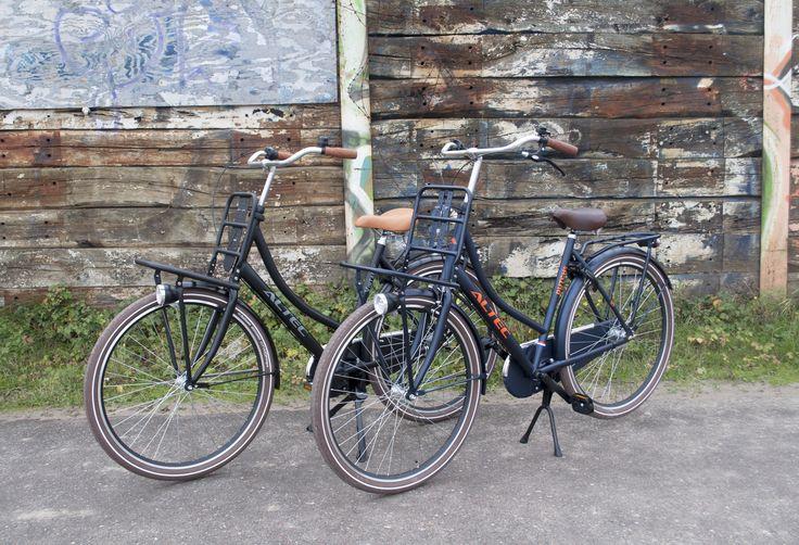 Altec transportfietsen. Altec Vintage, Altec Dutch damesfiets.