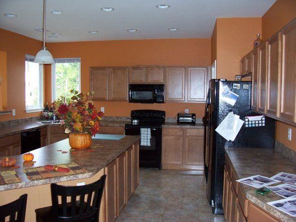 Burnt Orange Kitchen Walls 152 best home decor ideas images on pinterest   backsplash ideas