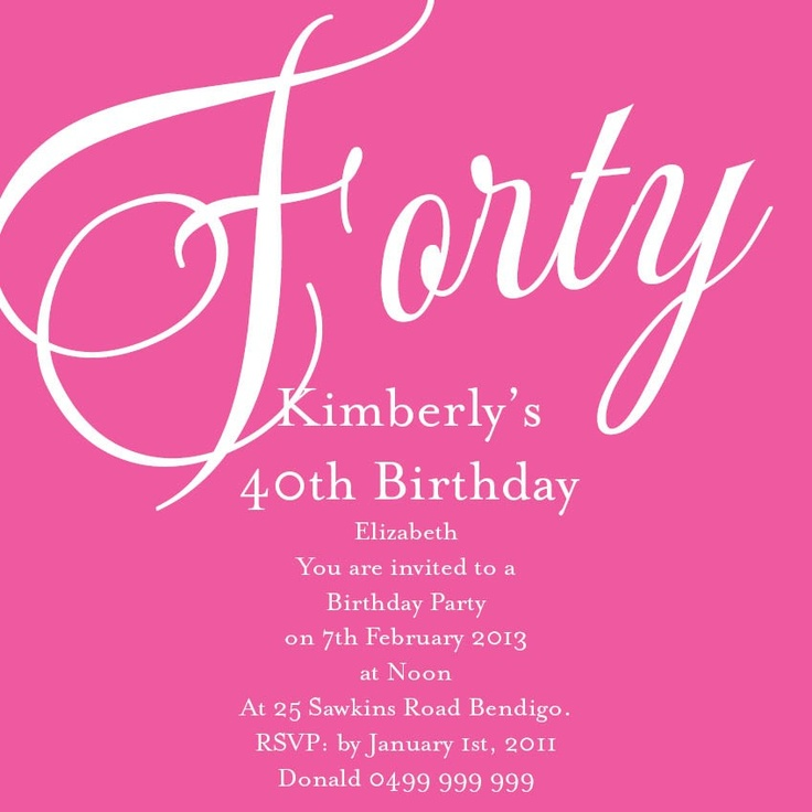21 best Invitation to Party images on Pinterest Invitation ideas