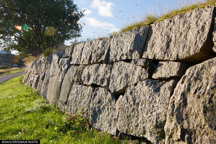 Natursten - Bohus Kryssmur/Rubbelmur Rustik - Molnsätra