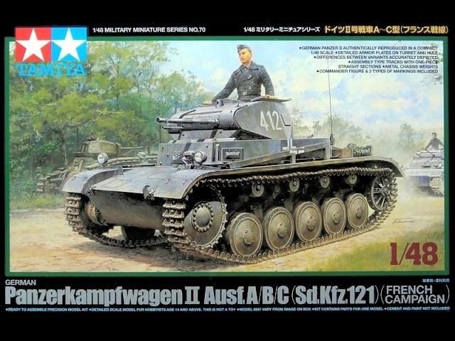 Tanque Panzer II ABC (Francês) - 1/48