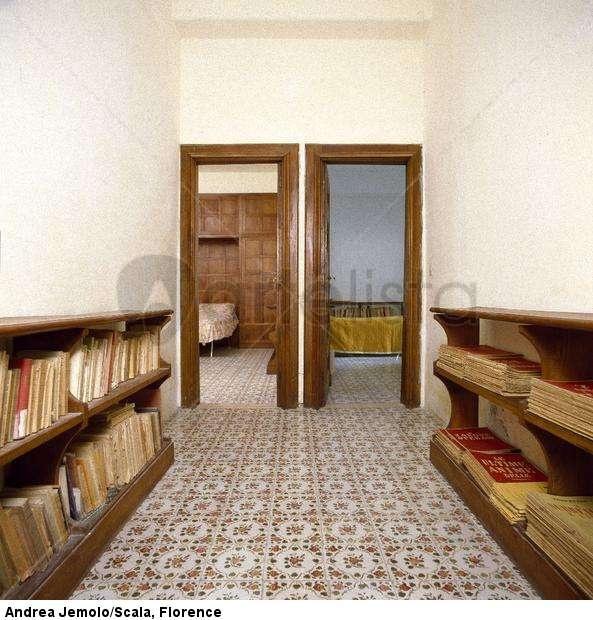 curzio malaparte's house by adalberto libera