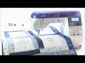 Máquina de Costura Quilting e Patchwork - Brother NX450Q - YouTube