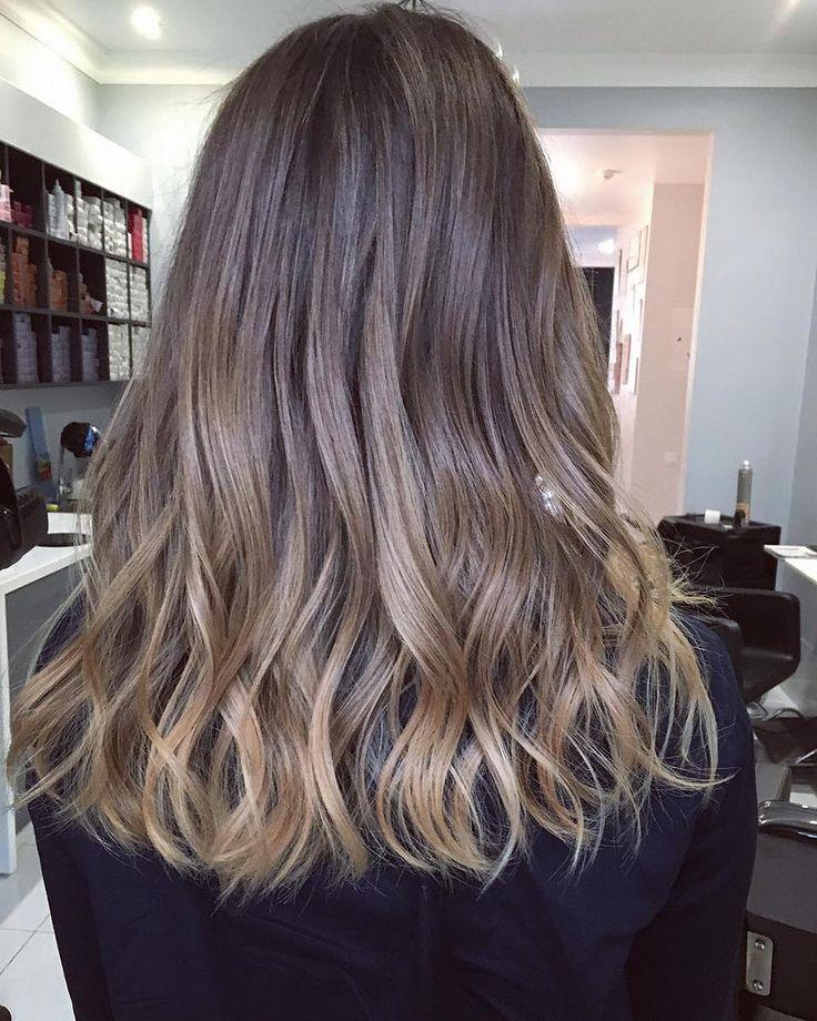 Сложное окрашивание для темных волос. Естественное, нежное и женственное.  Brown hair highlights by Tori Lozovaya Women`s Studio.  Made with love, as usual.