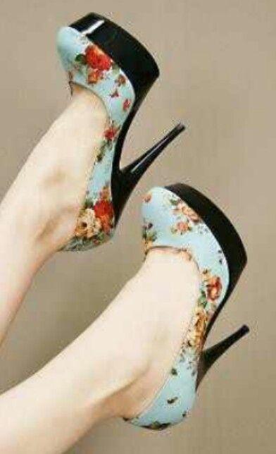 Vintage Heels, Too Cute.