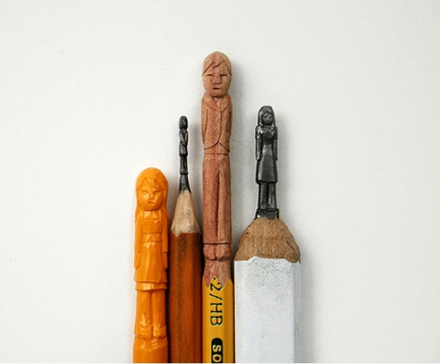 Best MINI PENCIL SCULPTURES Images On Pinterest Pencil Art - 8 astonishing tiny sculptures carved on the tips of pencils