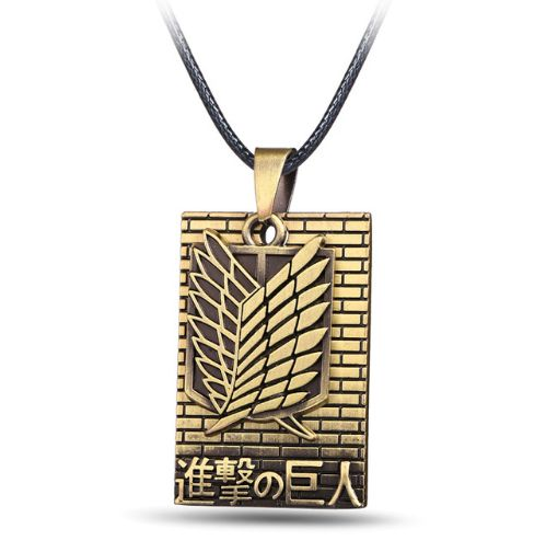 Attack on Titan Necklace //Price: $9.95 & FREE Shipping //