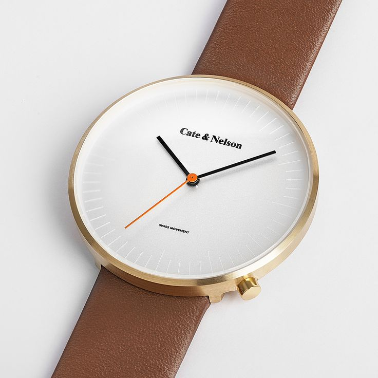 Cate & Nelson Watches | cate & nelson design studio