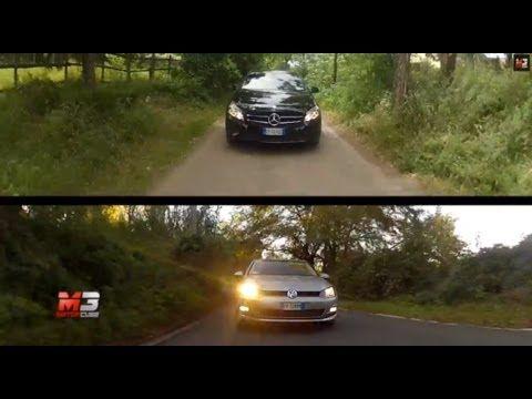 MERCEDES CLASSE A VS VOLKSWAGEN GOLF 7 2014 - TEST DRIVE