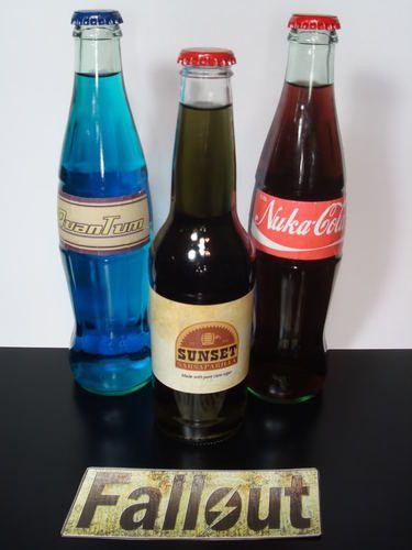 Fallout New Vegas ★ Quantum and Nuka Cola ★ Sunset Sarsaparilla ★sticker Labels★ | eBay