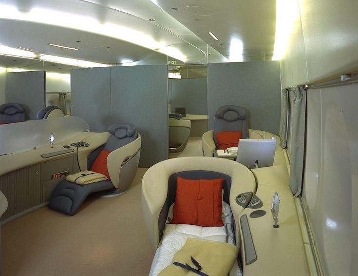 Design Intérieur de l'A380