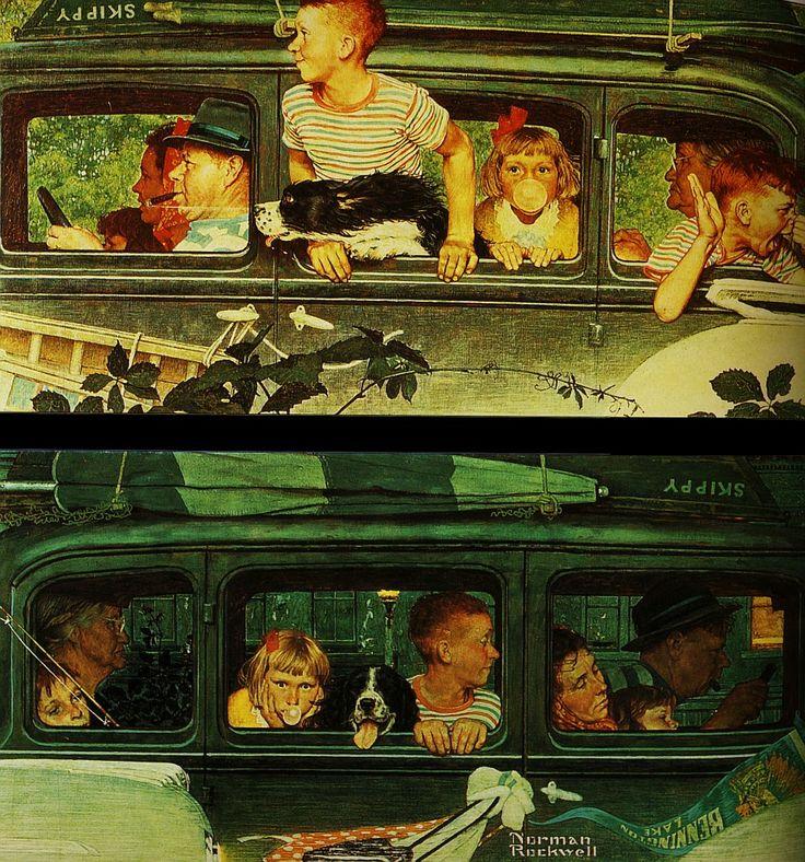 Американский художник и иллюстратор Норман Роквелл - Редкие заметы немолодого…