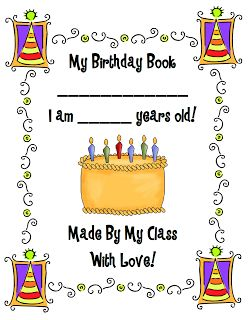 Class Birthday Book FREEBIE!