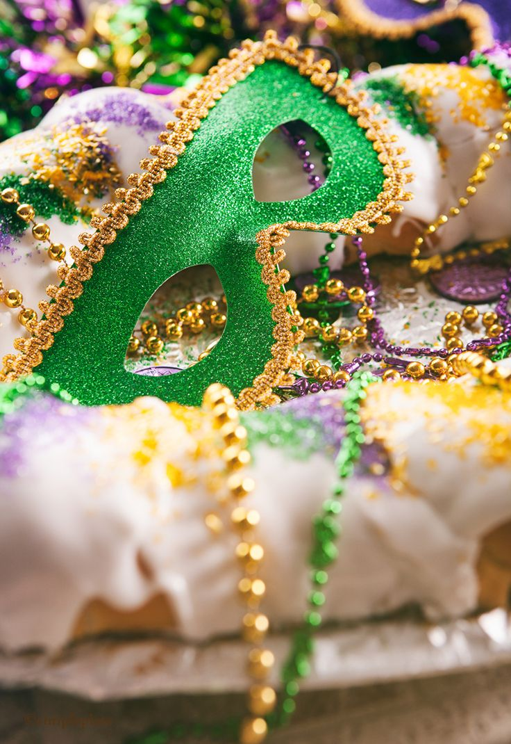 The King Cake tradition is thought to have been brought to New Orleans from France in 1870. ...authentic king cake