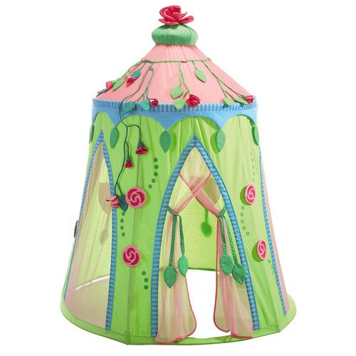Features:  -Rose Fairy collection.  -Material: Cotton/polyester, mesh fabric, plastic rods.  -Age: 3 - 5 Years.  -Set includes: Tent, poles and 2 rose garlands.  Color: -Multi-colored.  Primary Materi