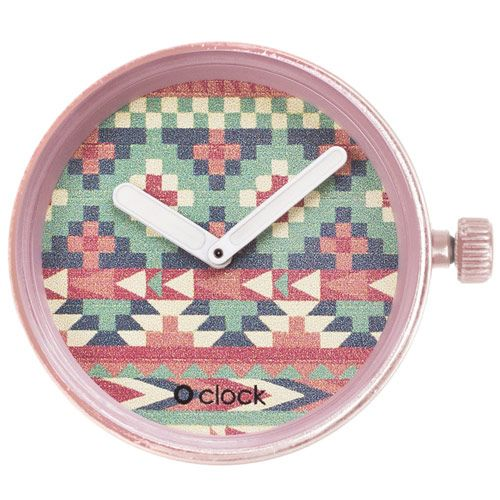 O clock watch dial - People - America Pink