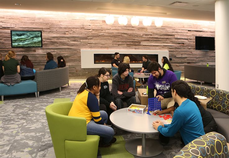 "Introducing the new Oakton Community College Student Center. Students and staff influenced the design of the new campus ""living room"" with the best views on campus."
