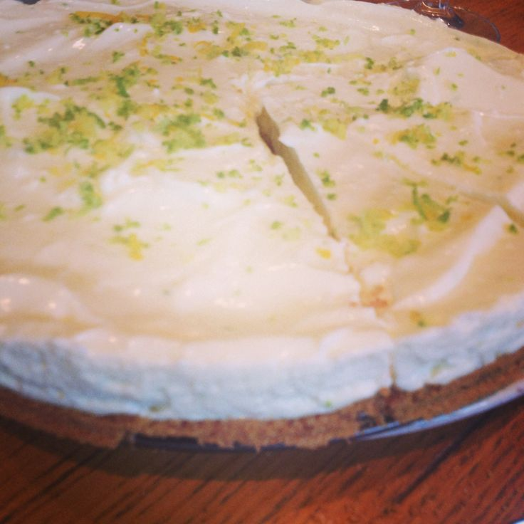 Lime Pie! Perfect balance citrus and sweet!!