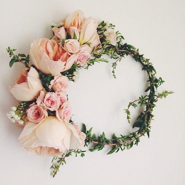 Flower Girl Los Angeles pink flower crown