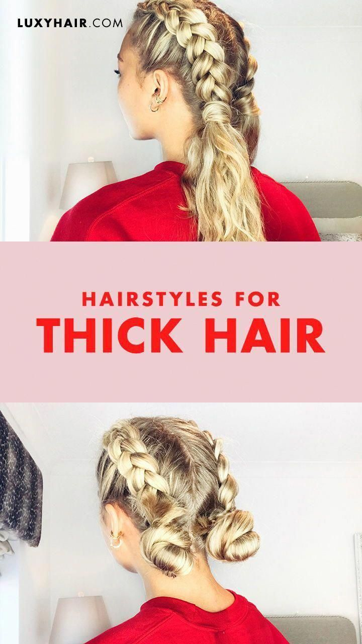 Easy Hairstyles And How To Do Them Easyhairstyles Easy Easyhairstyles Hairstyles Thick Hair Styles Easy Hairstyles For Thick Hair Easy Hairstyles