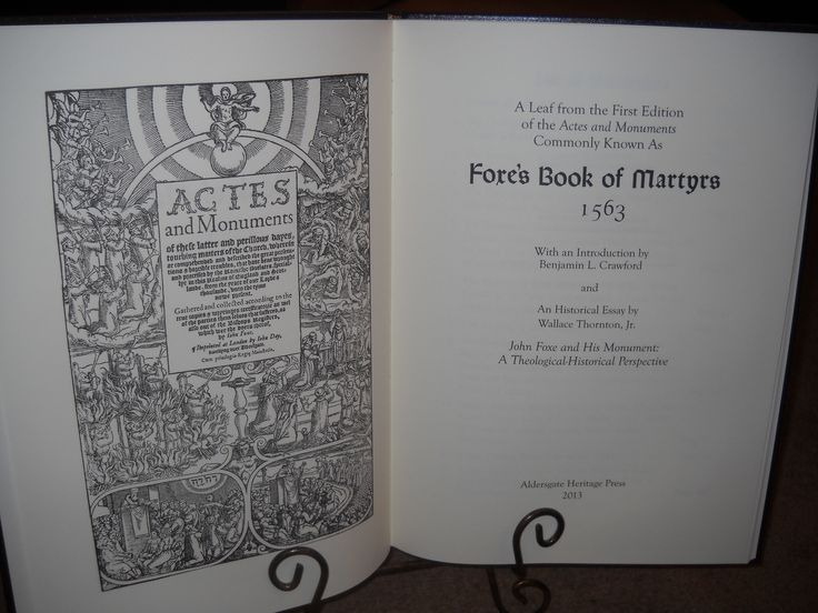 Title page to John Foxe Actes and Monuments 1563