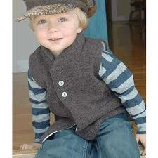 young boys fashion with vest and hat