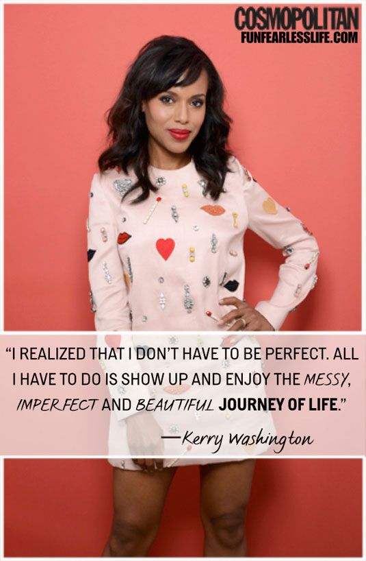 Kerry Washington is so right.