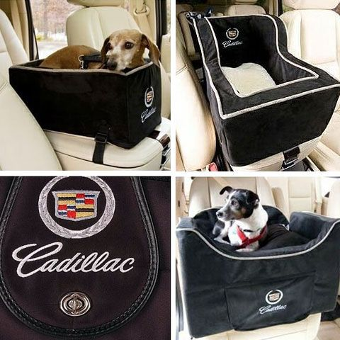 dog-car-seat-snoozer-cadillac. For when I get my next dog - the only way he will be allowed in my Cadillac!