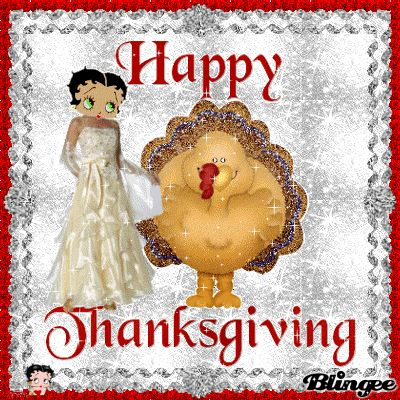 HAPPY THANKSGIVING BETTY TOP 66 BOOP FANS
