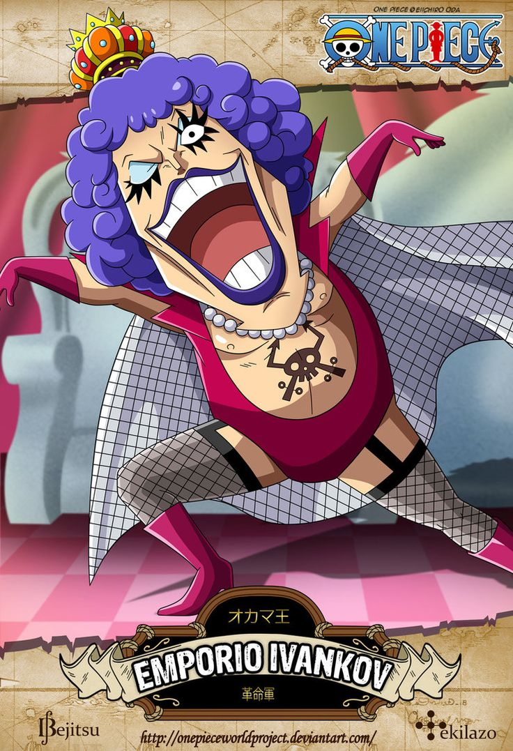 One Piece - Emporio Ivankov by OnePieceWorldProject on DeviantArt