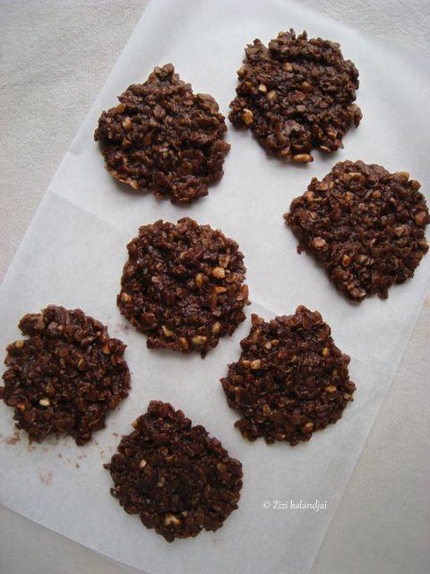 Vegán mogyoróvajas-csokoládés zabkeksz : Zizi kalandjai – Valódi ételek, valódi történetek