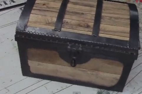 DiResta: Pirate Chest - fantastic project, excellent build video.